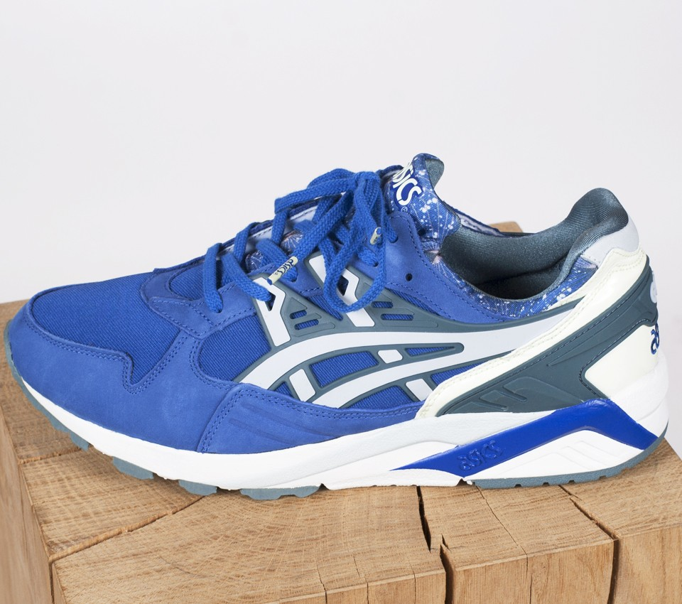 asics gel kayano trainer bleu