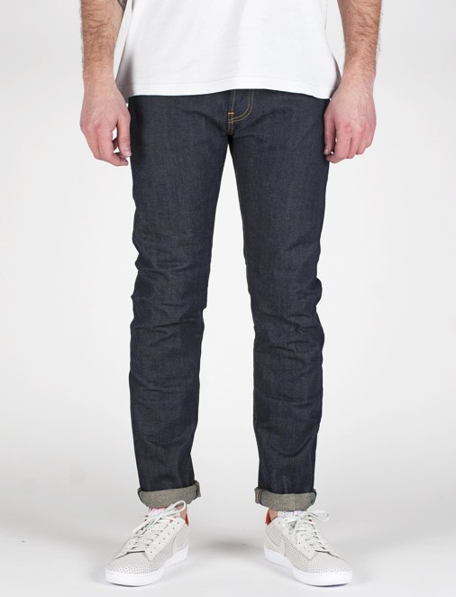 ED-80 SLIM TAPERED 63 RAINBOW SELVEDGE DENIM