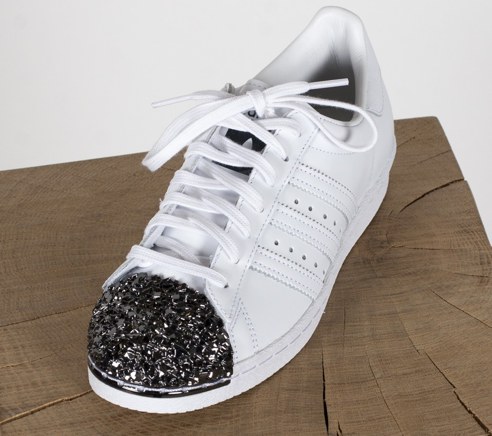 adidas Superstar 80s Scales White Black