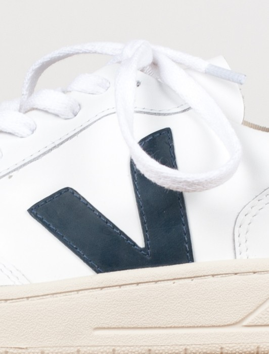 V10 LEATHER EXTRA WHITE NAUTICO PEKIN PIERRE
