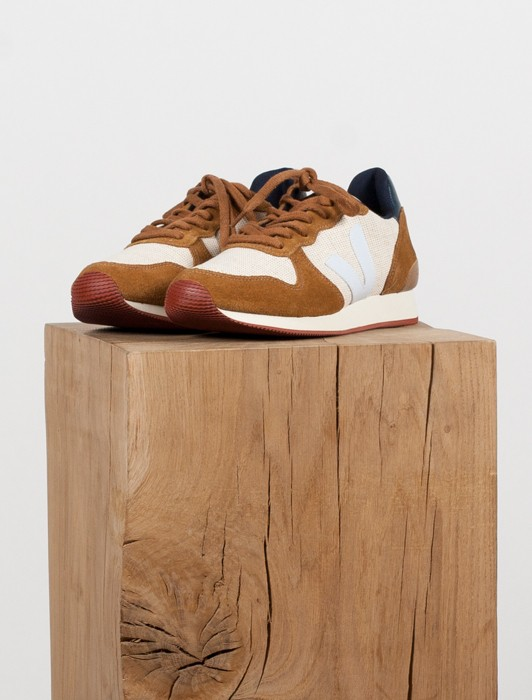 HOLIDAY LOW TOP JUTE NATURAL CAMEL WHITE