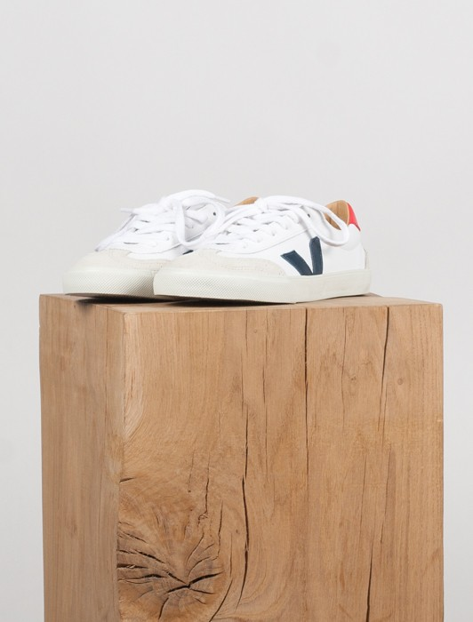 VOLLEY BASTILLE LEATHER EXTRA WHITE NATURAL NAUTICO