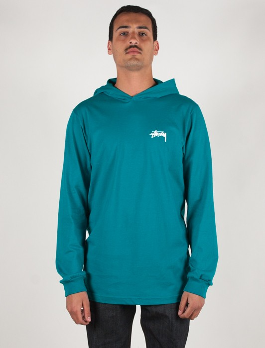 ORIGINAL STOCK LS HOOD TEE