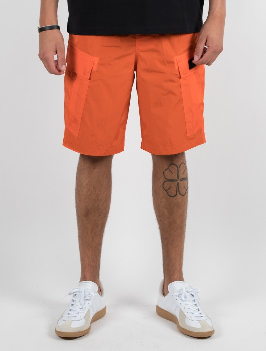EOM ORANGE CARGO SHORT