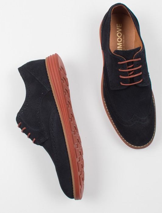 PRISM BROGUE SUEDE