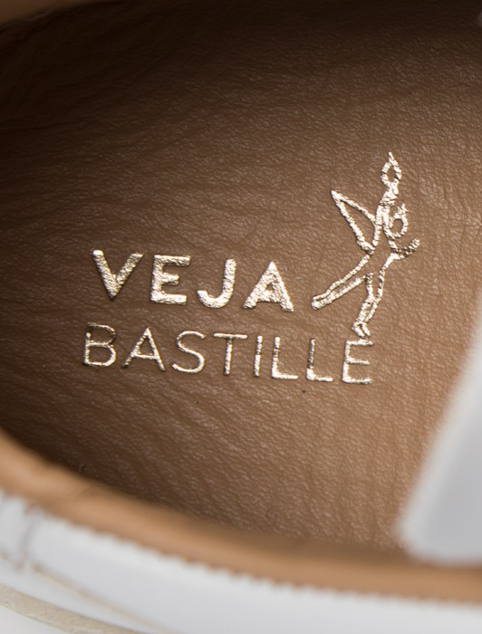 V-10 BASTILLE LEATHER EXTRA WHITE NATURAL OUTSOLE