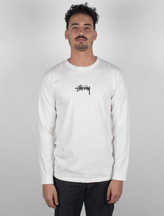 ST STOCK PIG DYED LS TEE