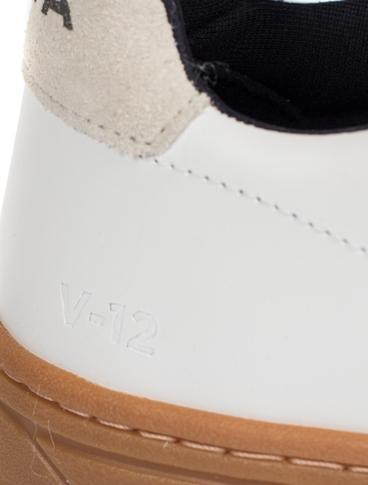 V-12 VELCRO NATURAL EXTRA WHITE NATURAL SOLE