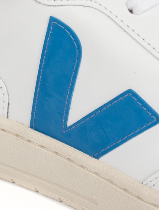 V10 LEATHER EXTRA WHITE SWEDISH BLUE