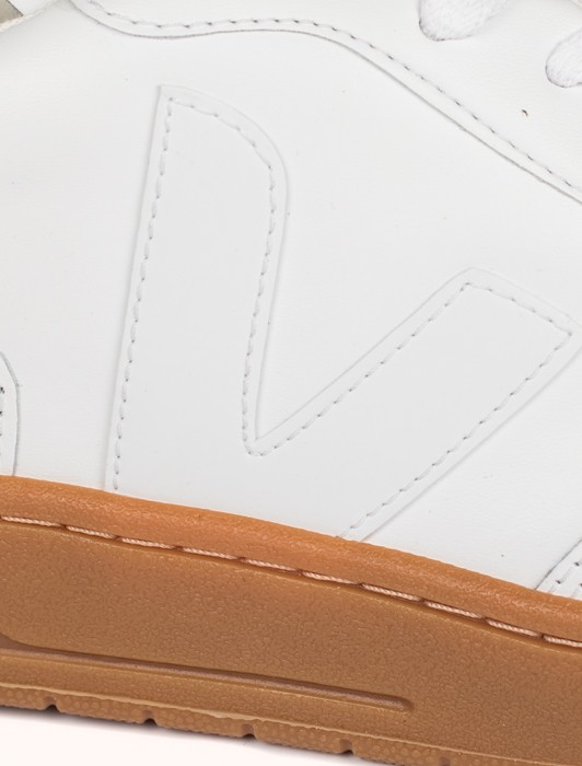 V10 LEATHER EXTRA WHITE NATURAL SOLE