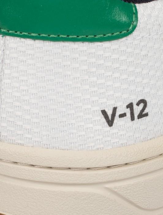 V-12 B-MESH WHITE EMERAUDE