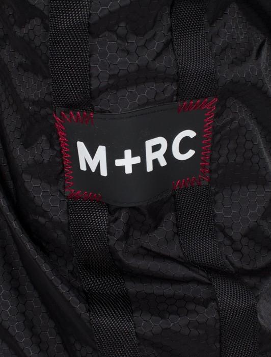 M+RC PLUG TRACK PANT BLACK AND ORANGE