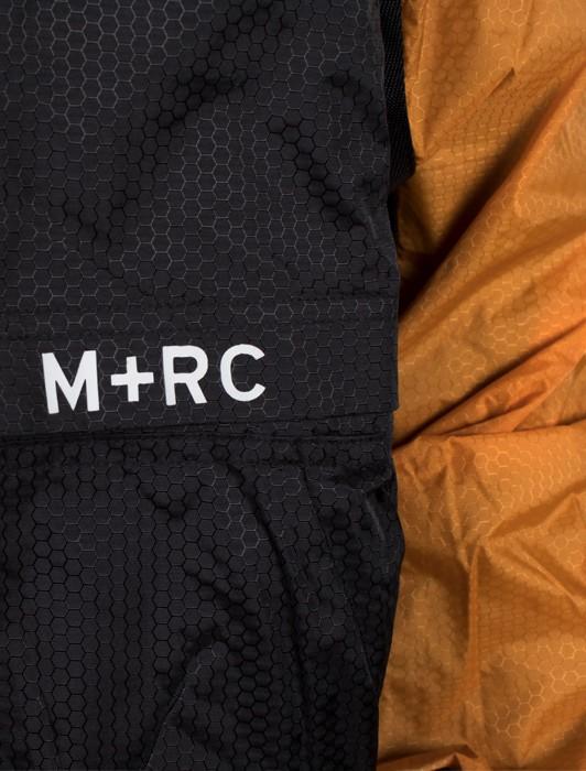 M+RC NOIR PLUG BLACK AND ORANGE AMBRE TRACK JACKET
