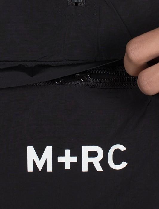 M+RC NOIR RIP OFF BI-MATERIAL MID ZIPPER SWEATER