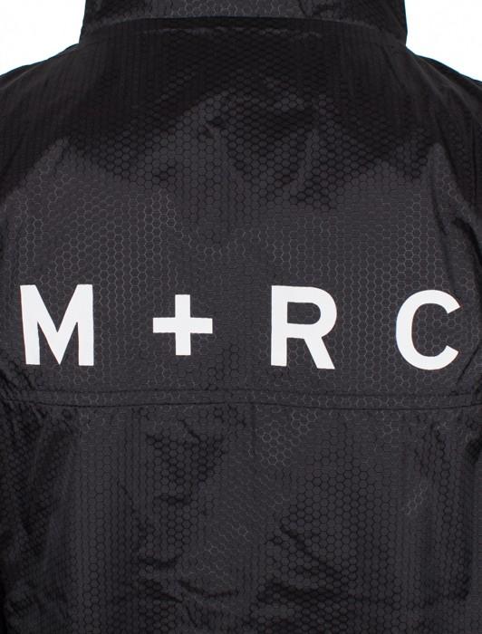 M+RC PLUG ALL BLACK TRACK JACKET