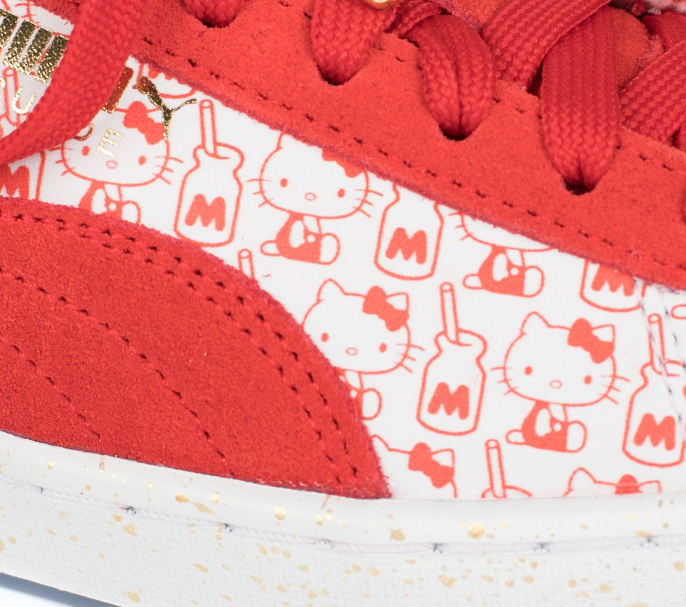 SUEDE CLASSIC X HELLO KITTY